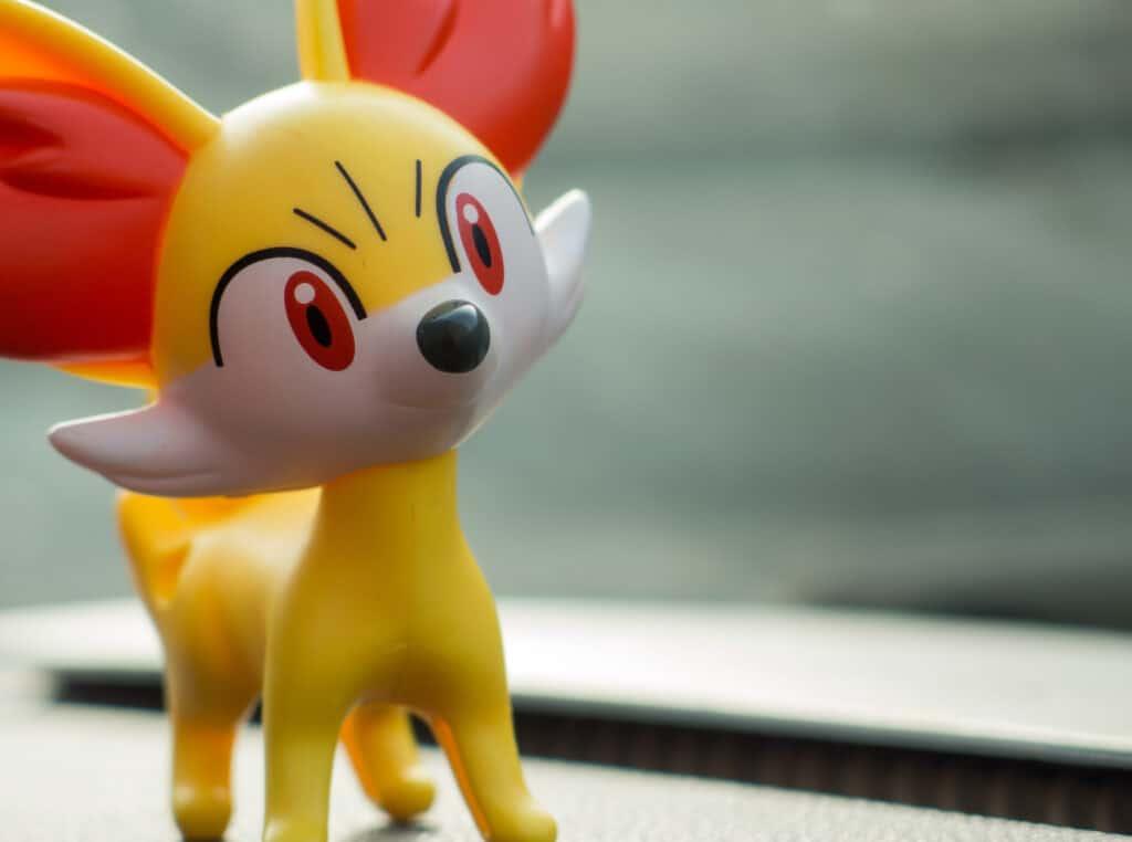 fennekin fire Type pokemon