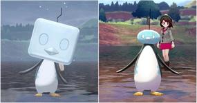 Eiscue Ice Pokemon