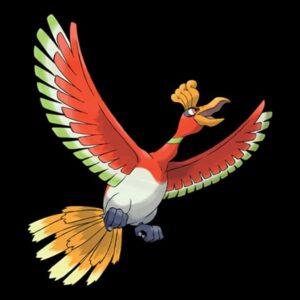 Ho-oh Fire Type Pokemon