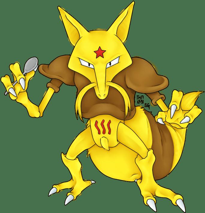Kadabra Psychic Type Pokemon