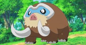 Mamoswine Ice type Pokemon