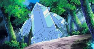 Regice Ice type Pokemon
