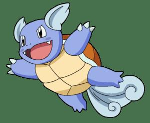 Wartortle Water type pokemon