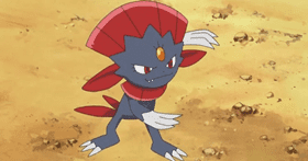 Weavile Ice Type Pokemon