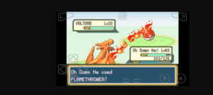 Flame thrower funny names pokemon