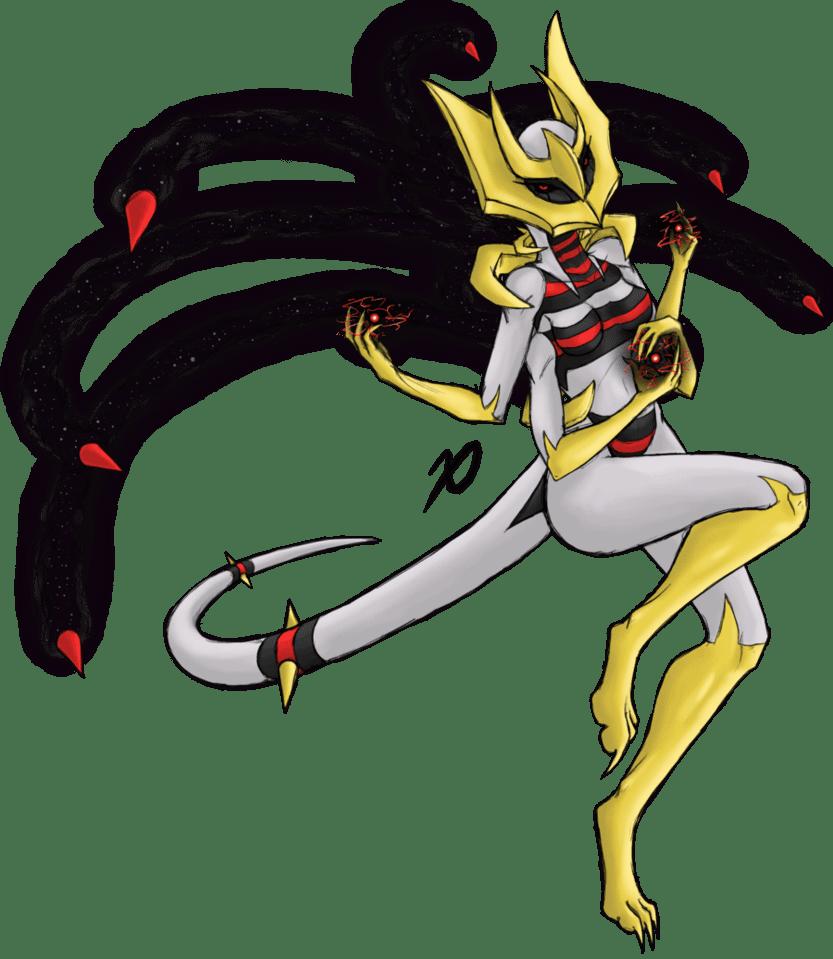 Giratina Ghost type pokemon