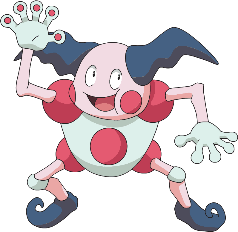 Mr Mime Ice pokemon
