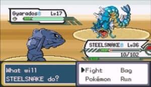 Steel Snake Nickname for Steelix