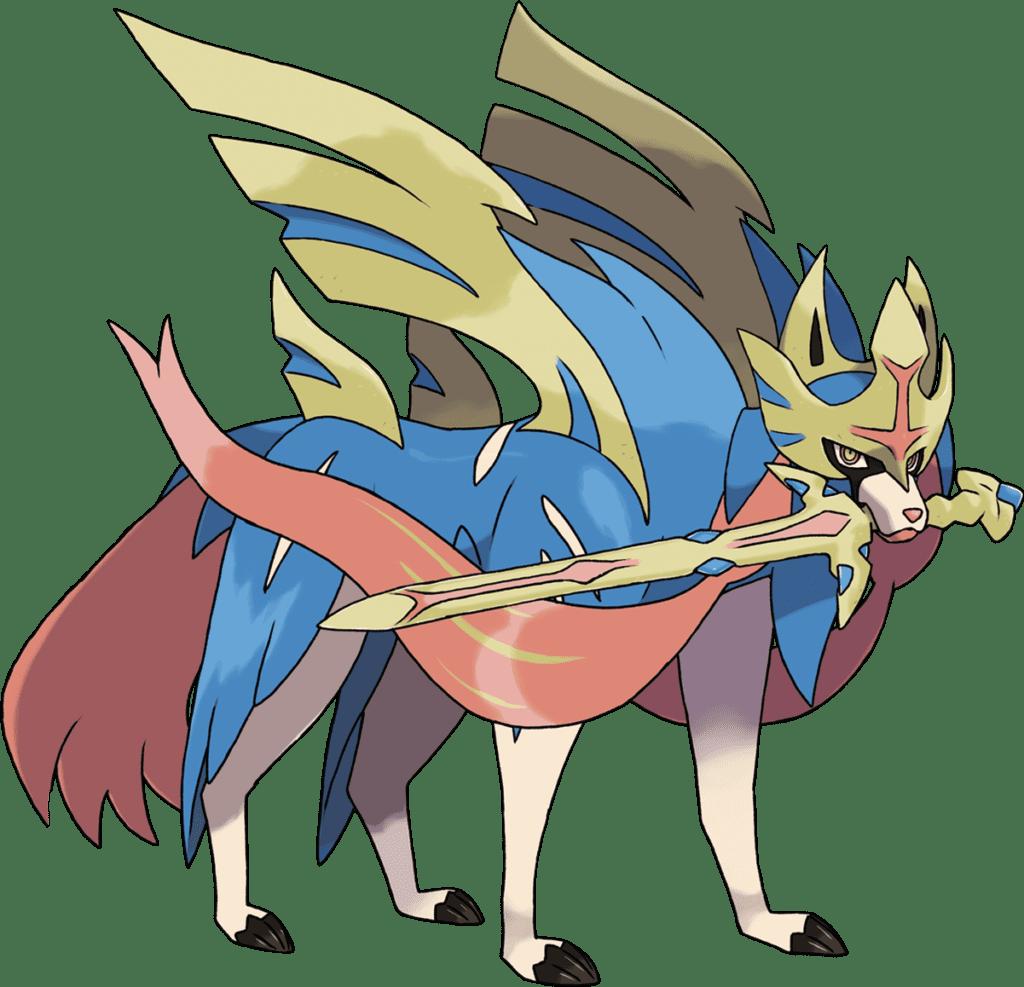 Zacian pokemon